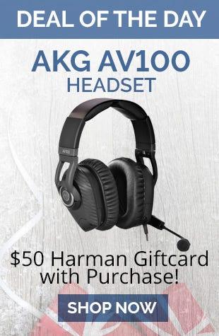 AKG AV100 Headset
