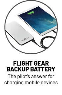 Flight Gear Backup Battery