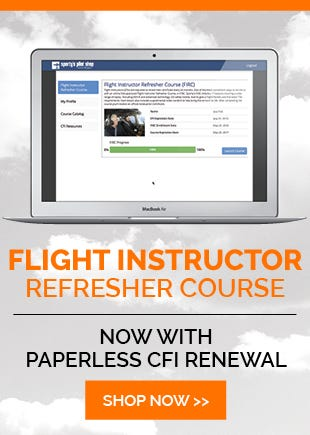 Flight Instructor Refresher Course