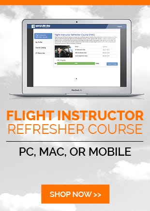 Sportys Flight Instructor Refresher Course