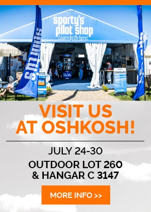 Visit Sporty's at Oshkosh