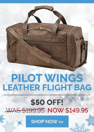 Leather Flight Bag Deal of the Week
