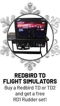 Redbird Free Pedals