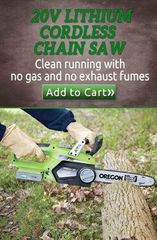 20v Lithium Cordless Chain Saw