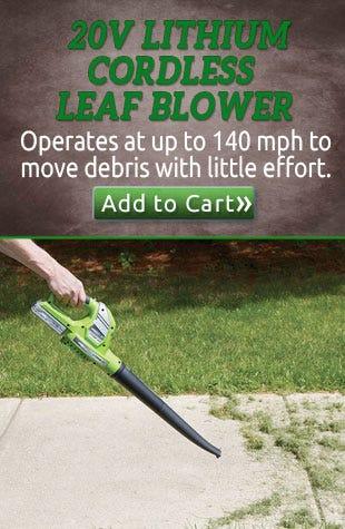 20v Lithium Cordless Leaf Blower