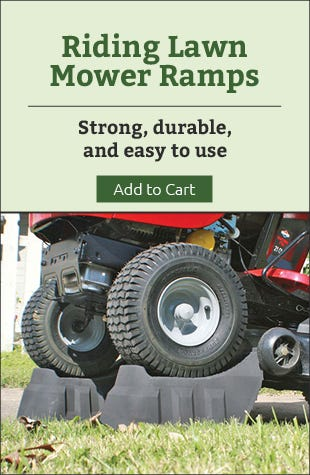 Riding Lawn Mower Ramps