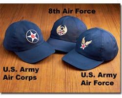 USAAF Insignia Caps