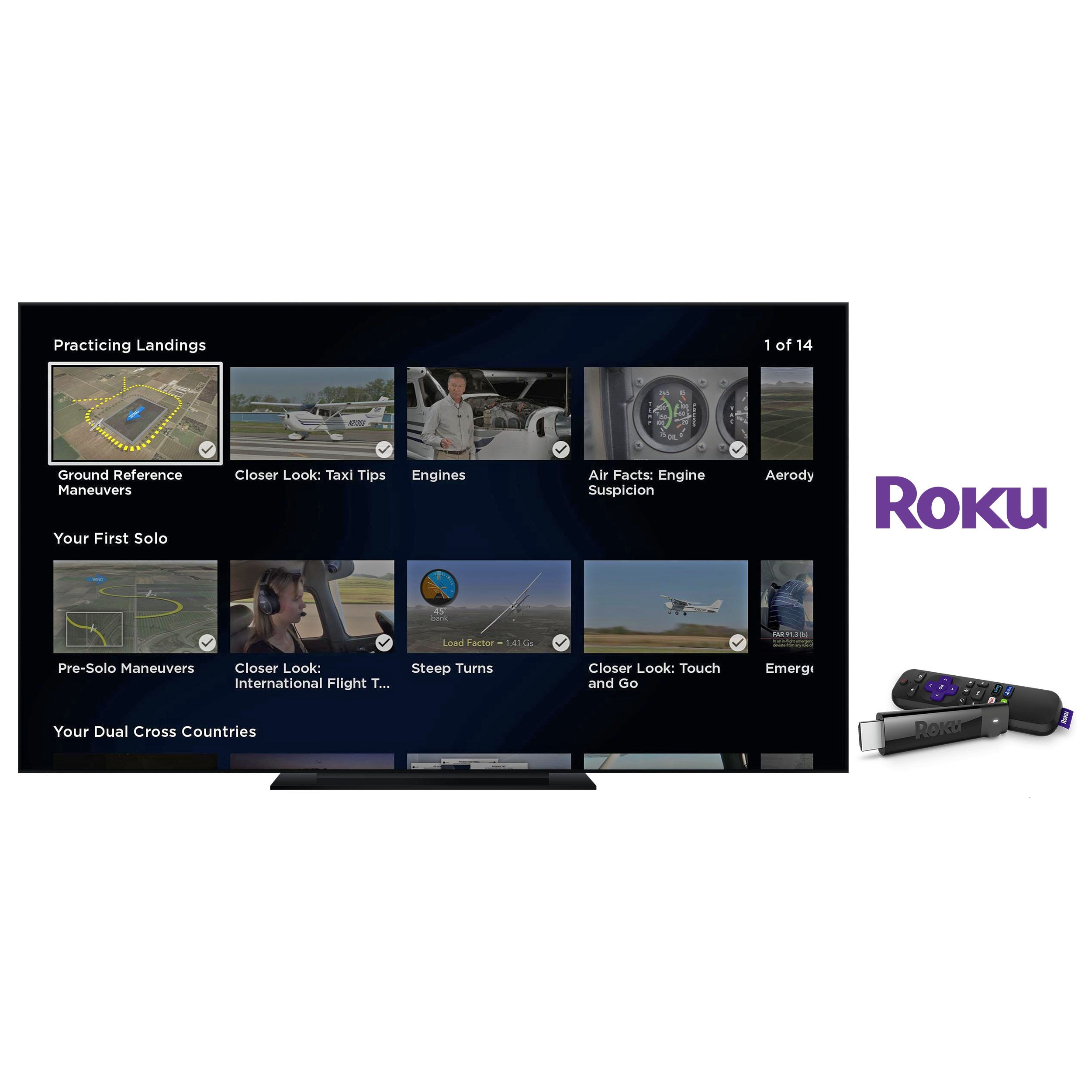 TV is back - how to use Apple TV and Roku to watch Sporty's
