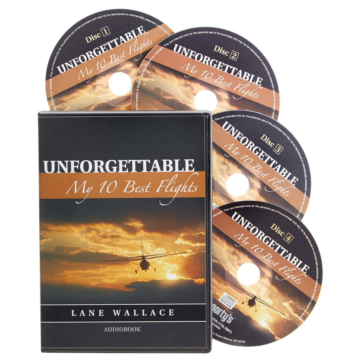 Unforgettable audio book