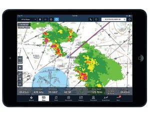 In-flight weather