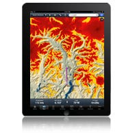 WAAS GPS unlocks track up and terrain