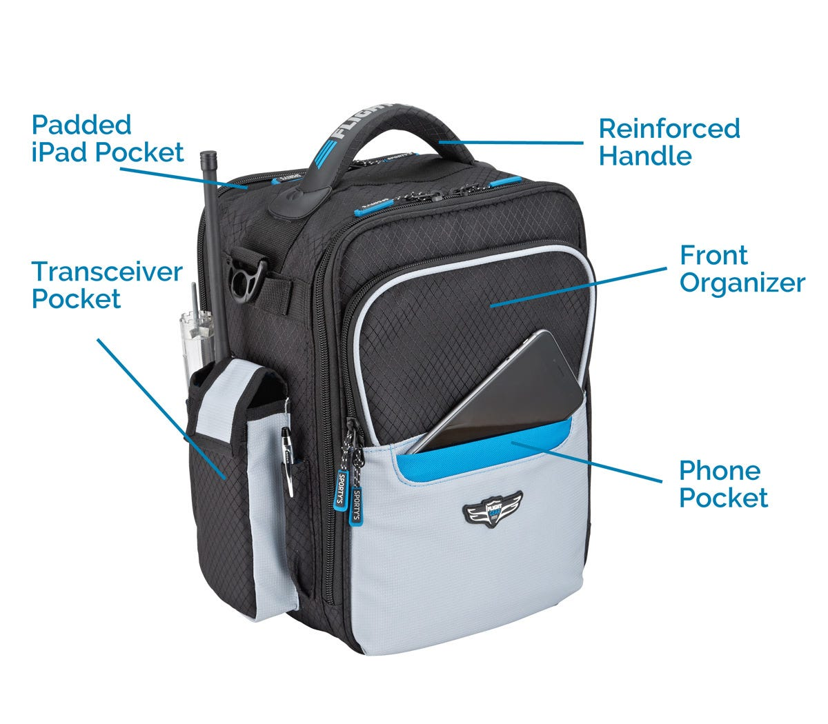 Ipad Bag Measures 12 W X 7 5 D 13 H Overall Optional Embroidery Available On The Front Flap