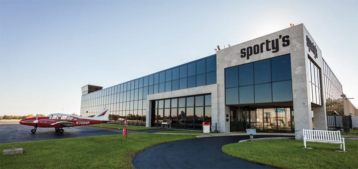 Sportys Pilot Shop Building