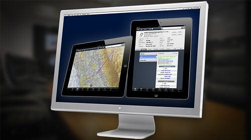 Webinar on a computer screen