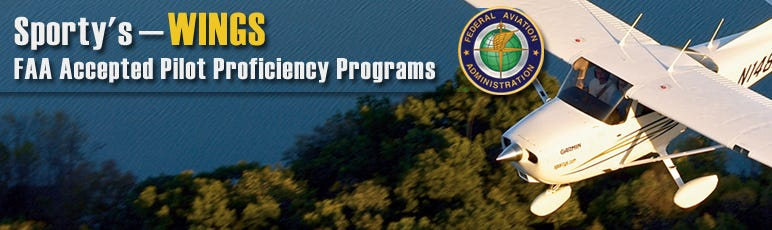 Welcome to Sporty's WINGS – Pilot Proficiency